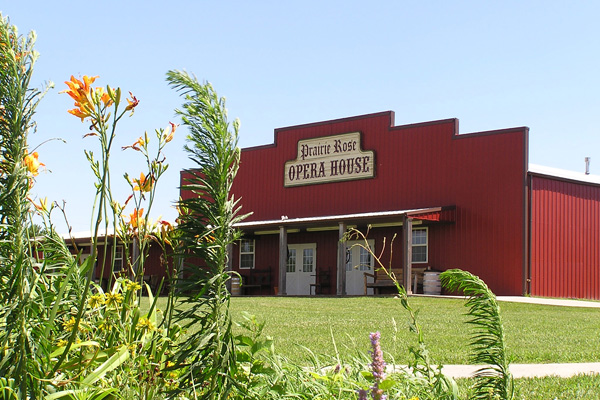 The Prairie Rose Opera House